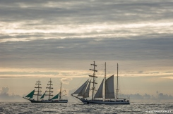 German Barque, Alexander von Humboldt, Germany and Polish Barquentine Pogoria