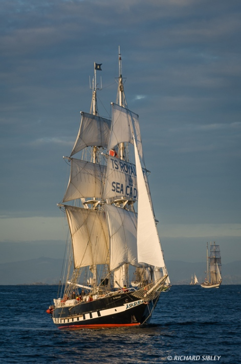 Brig TS Royalist. Great Britain