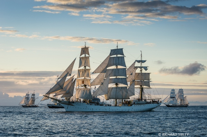 TS Royalist, Lord Nelson, Sorlandet and Morgenster