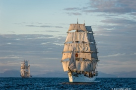 Polish Barquentine, Pogoria and Norwegian Full Rigger Sorlandet