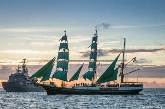 German Barque Alexander von Humboldt