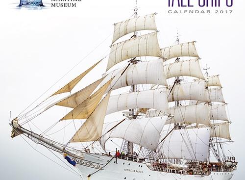Calendar,tall ships,2017