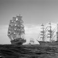 The Fleet cross the line. Lisbon2012