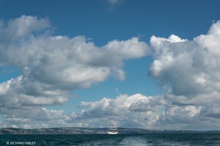 Full rigger Christian Radich. Norway. Torbay - Lisbon
