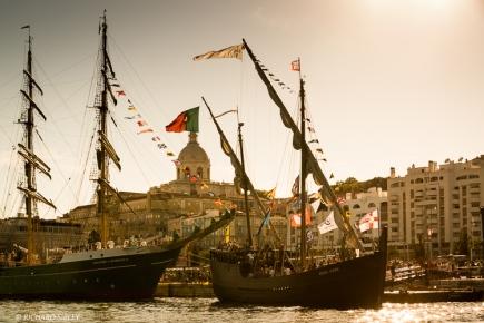 Ships from left to right, Alexander von Humboldt ll, Vera Cruz