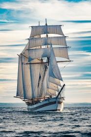 Swedish topsail schooner Vega Gamleby