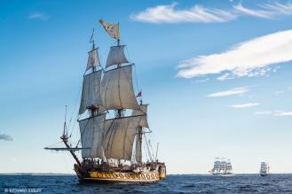 Russian frigate Shtandart