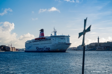 Stena, on route to Denmark