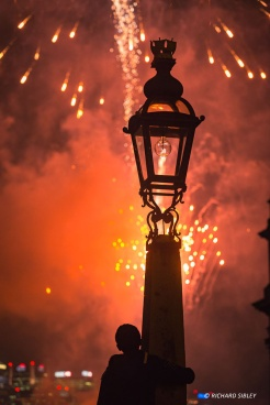 Firework display - Royal Greenwich 2014