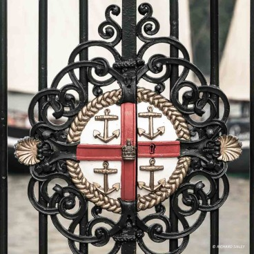 Gate detail - Royal Greenwich