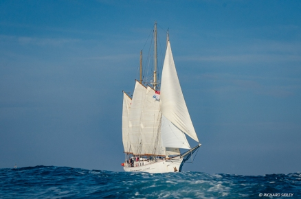 Schooner Blue Clipper, Great Britain