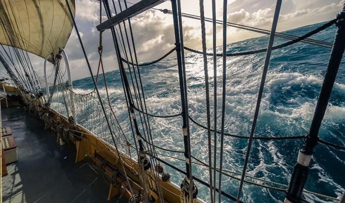 Fair Winds onboard the Dutch Clipper BrigMorgenster