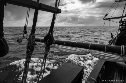 Crossing the Bay of Biscay