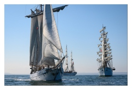 JR Tolkien, Shabab Oman and the Mexican barque Cuauhtemoc