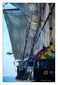 Dowsing sail - Frigate Shtandart