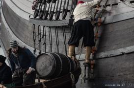 Preparing to load the rum
