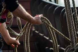 Coiling the ropes