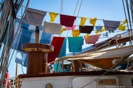 The worlds best known signal flags indicating a spell of good weather