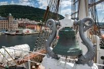 Departing Bergen