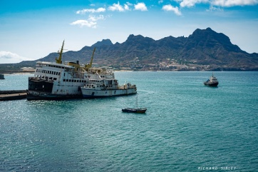 Relics of the past, Mindelo harbour