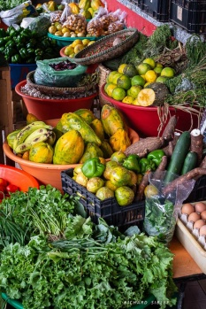 Colourful local produce, Mindelo market