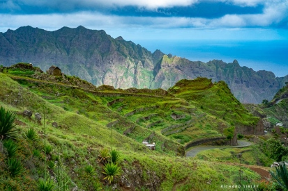 View from the Estrada de Corda, Santo Antao