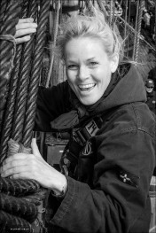 Kotte Nyberg, professional crew, the Swedish ship Gotheborg, Vanern-Varberg Expedition 2015